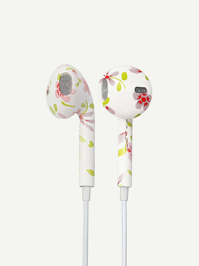 Calico Print Ear Pods With Box - Phone Cases
