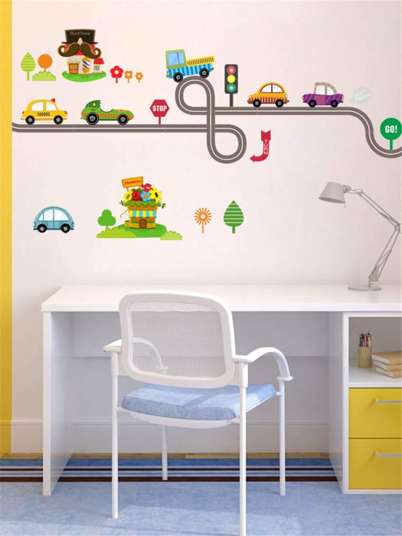 Car Print Wall Sticker - Wall Art