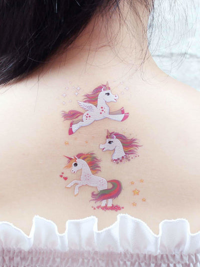Cartoon Animal Shaped Tattoo Sticker 4Pack - Beauty Tools