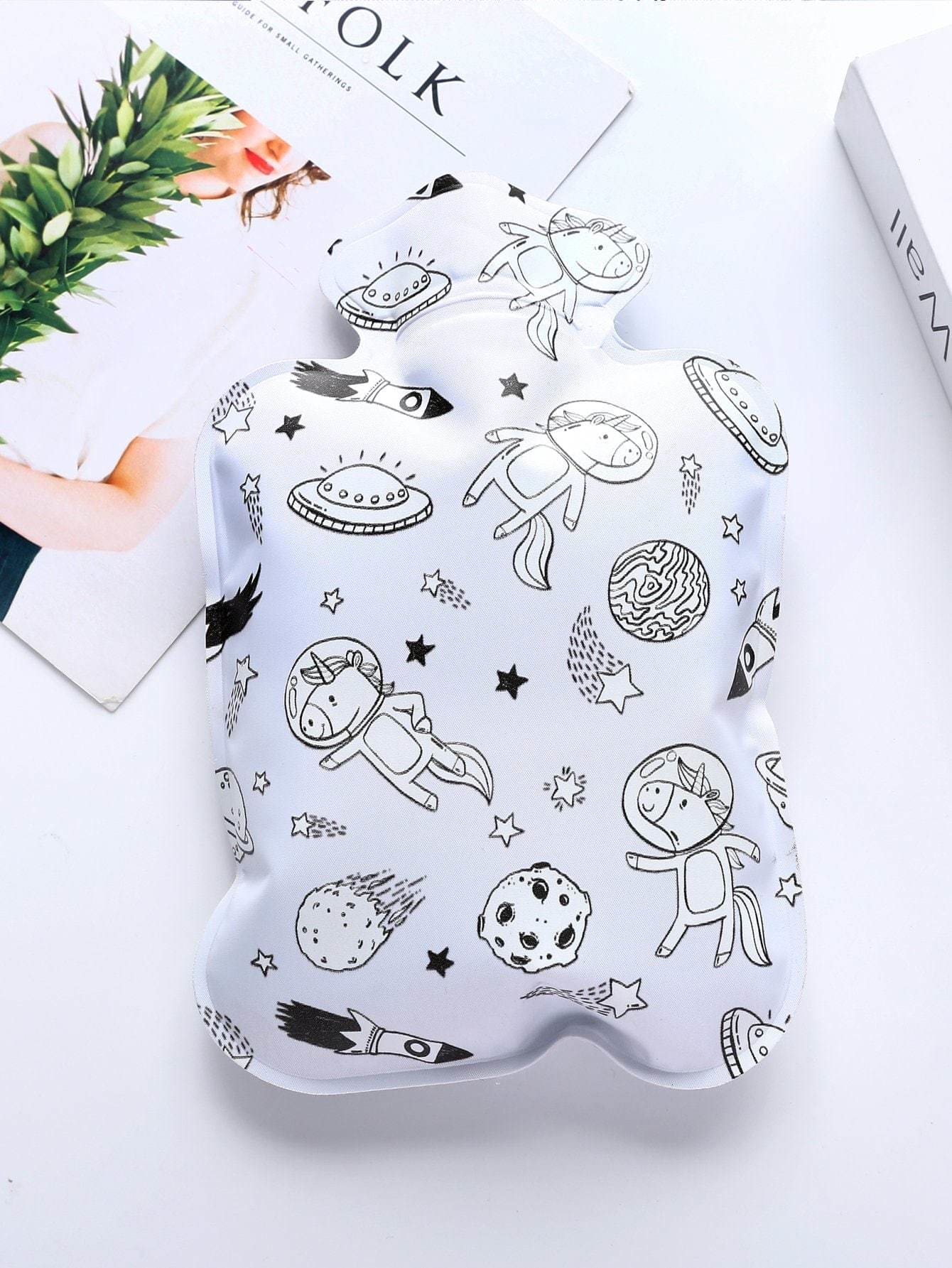 Cartoon Pattern Hot Water Bag