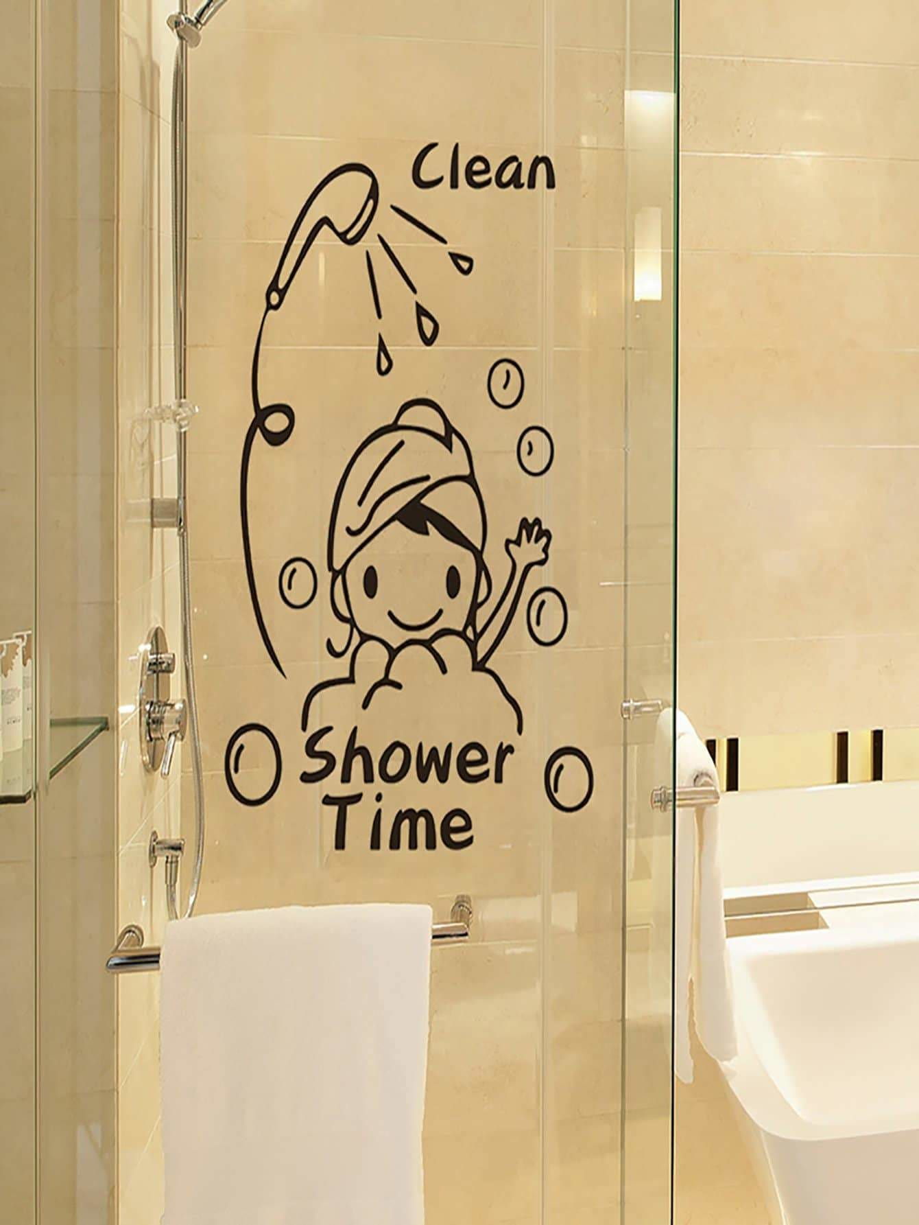 Cartoon Print Wall Sticker - Wall Art