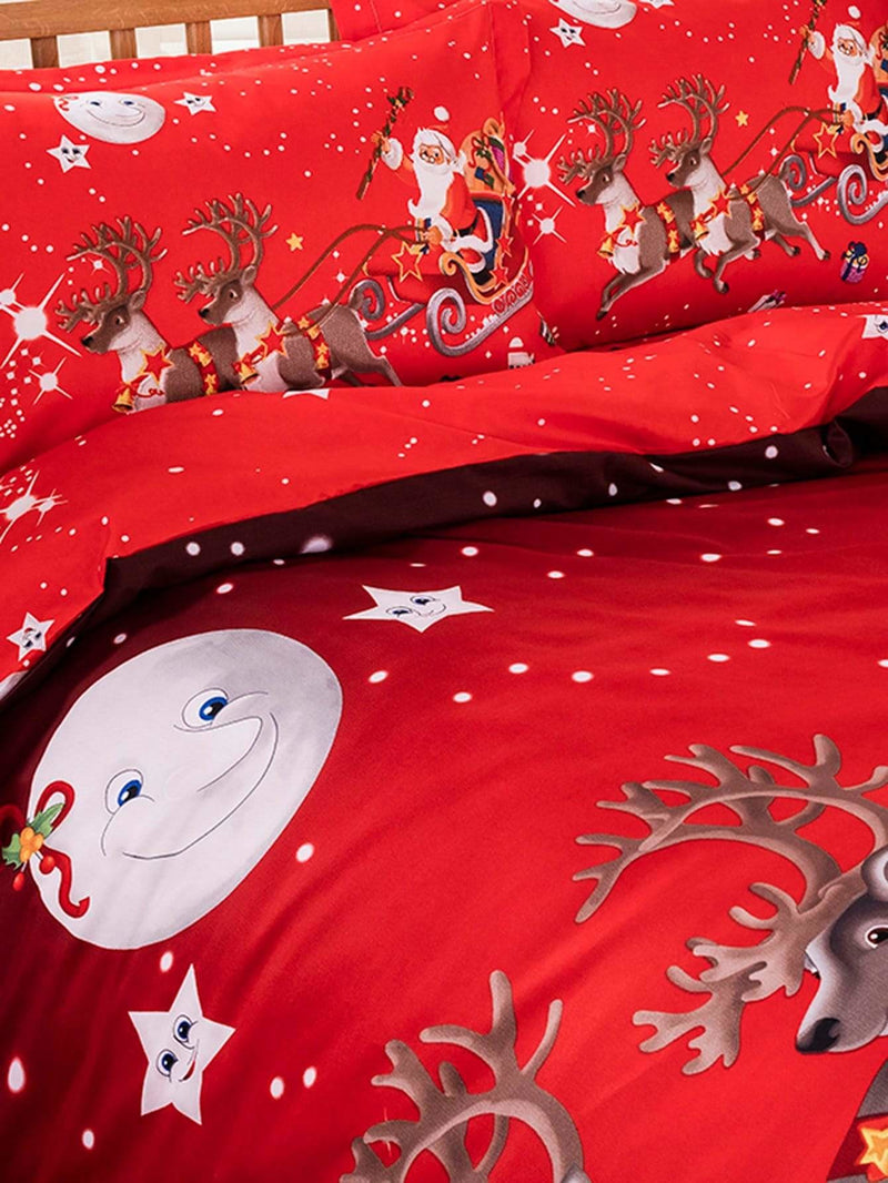 Christmas Print Sheet Set - Bedding Sets