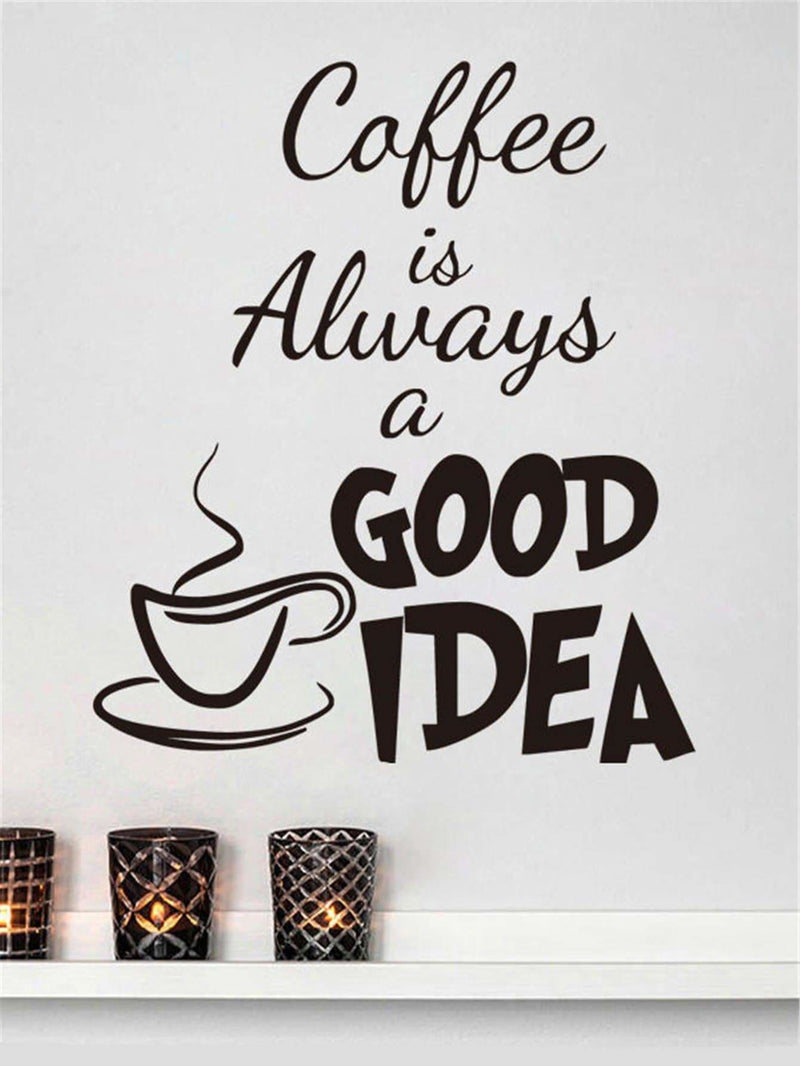 Coffee Print Wall Sticker - Wall Art