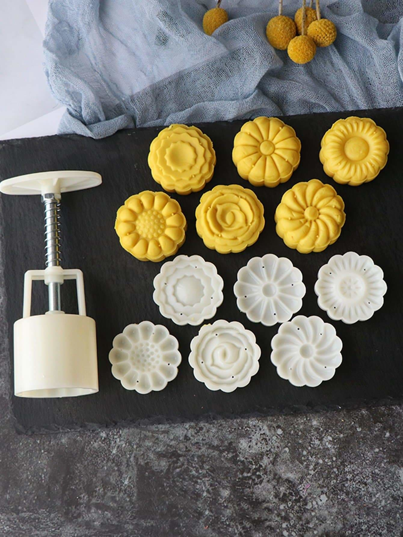 Cookie Press Gun Set 7pcs