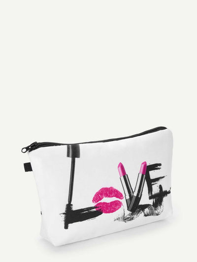 Cosmetic Print Makeup Bag - Makeup Bags