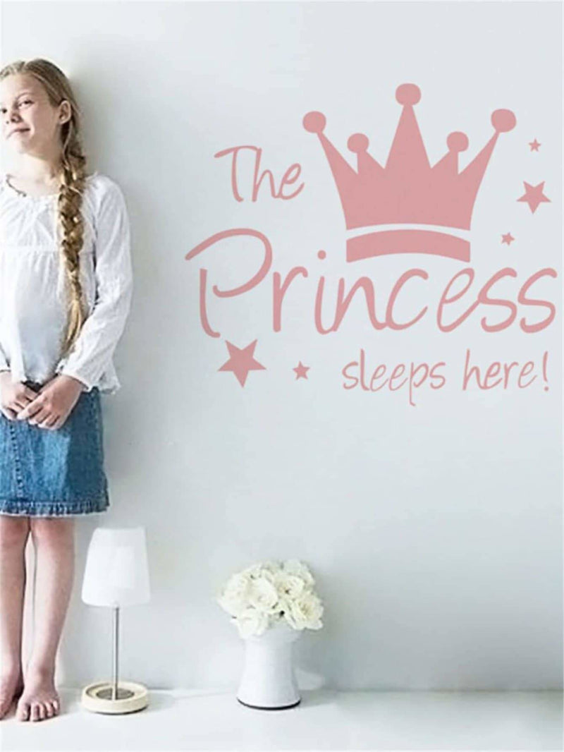 Crown Print Wall Sticker - Wall Art