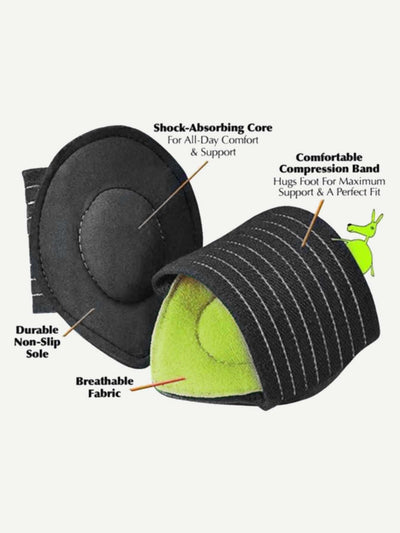 Cushioned Arch Supports Foot Pad 1Pair - Personal Care