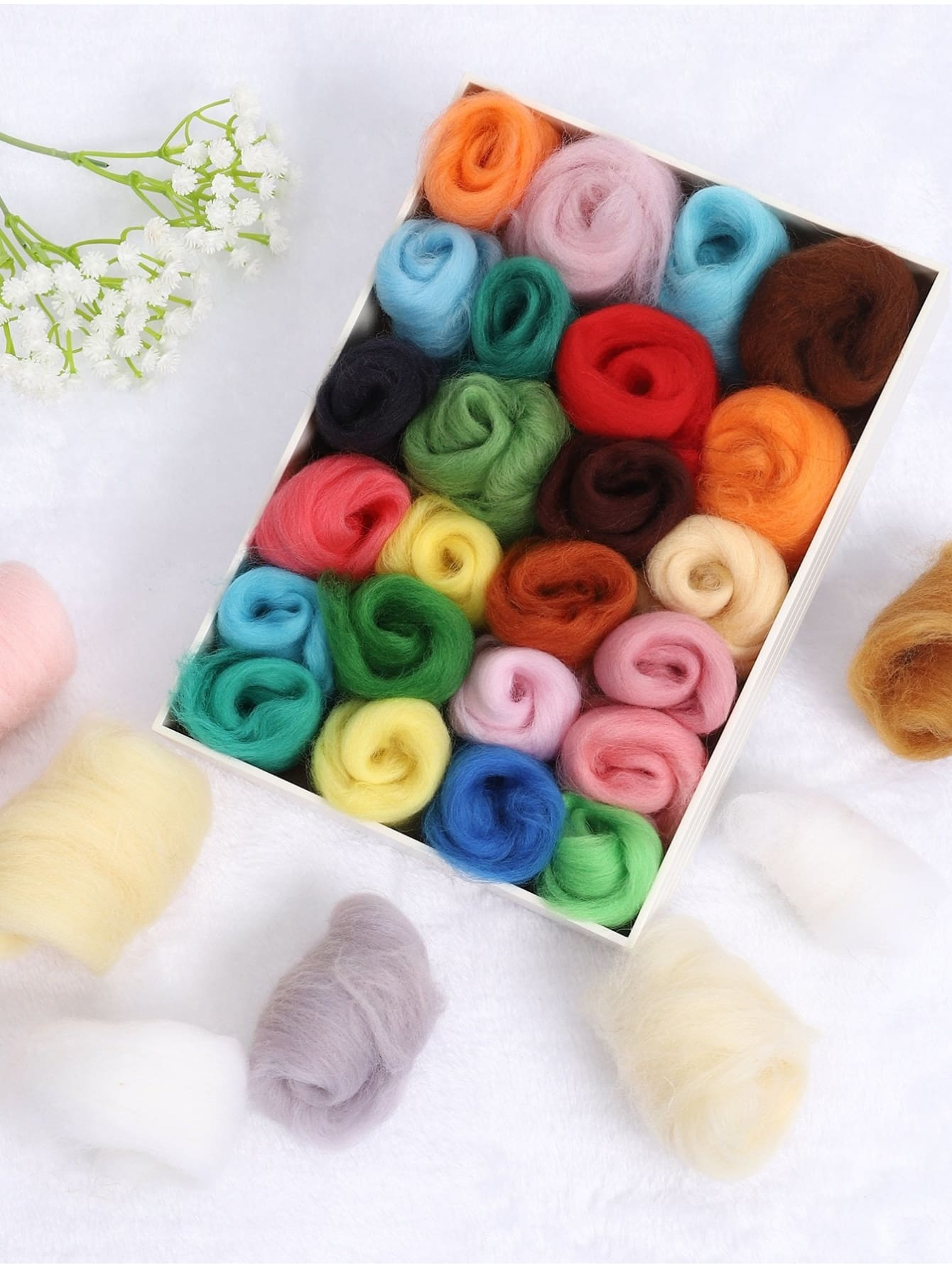 DIY Wool 36pcs