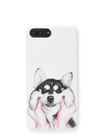 Dog Print Iphone Phone Case - Phone Cases