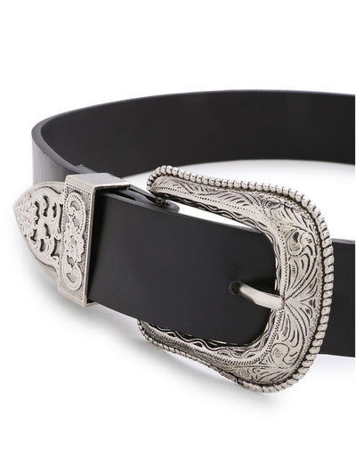 Double Buckle Western Belt - Belts