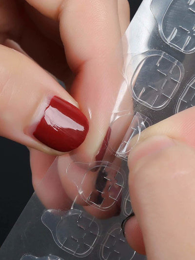 Double Sided Adhesive Tapes Clear Nail Stickers 2Pack - Beauty Tools