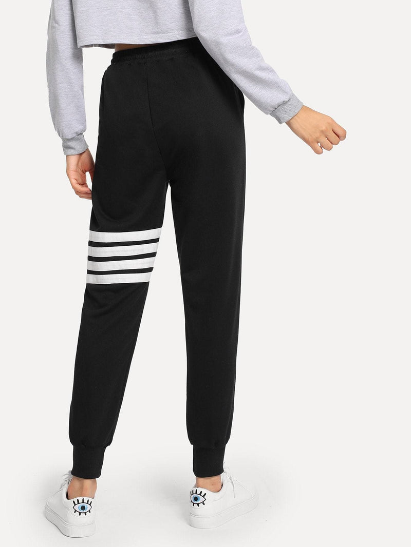 Drawstring Waist Pants - Fittness Leggings