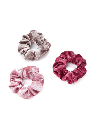 Elastic Hair Tie 3pcs - Hair Accessories