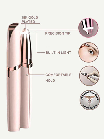 Electric Eyebrow Trimmer Stick 1Pc - Beauty Tools