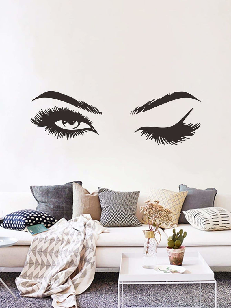 Eyes Print Wall Sticker - Wall Art