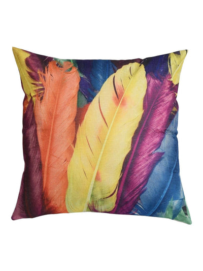 Feather Print Pillowcase - Decorative Pillows