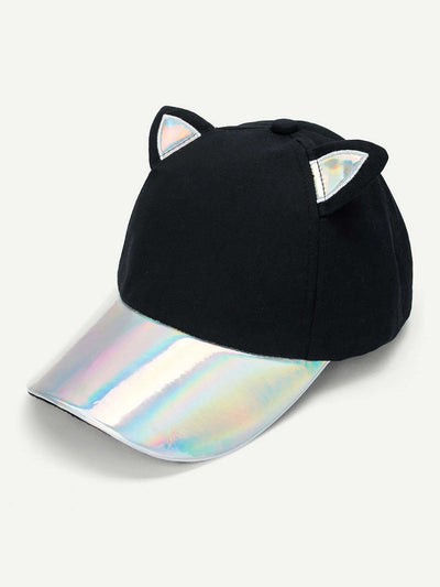 Festival Baseball Cap With Cat Ear - Hats & Gloves