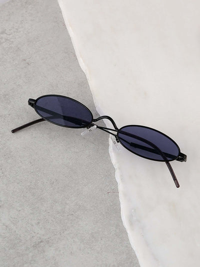 Festival Oval Lenses Sunglasses - Sunglasses