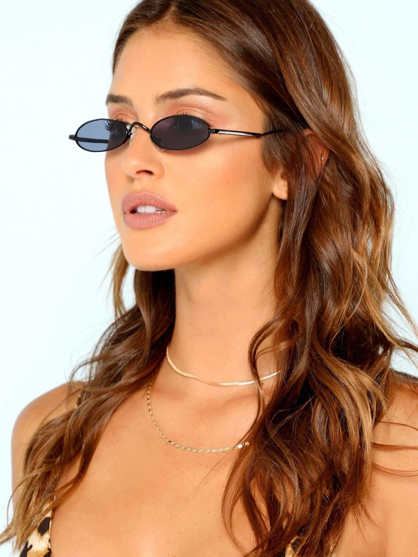 Festival Oval Lenses Sunglasses