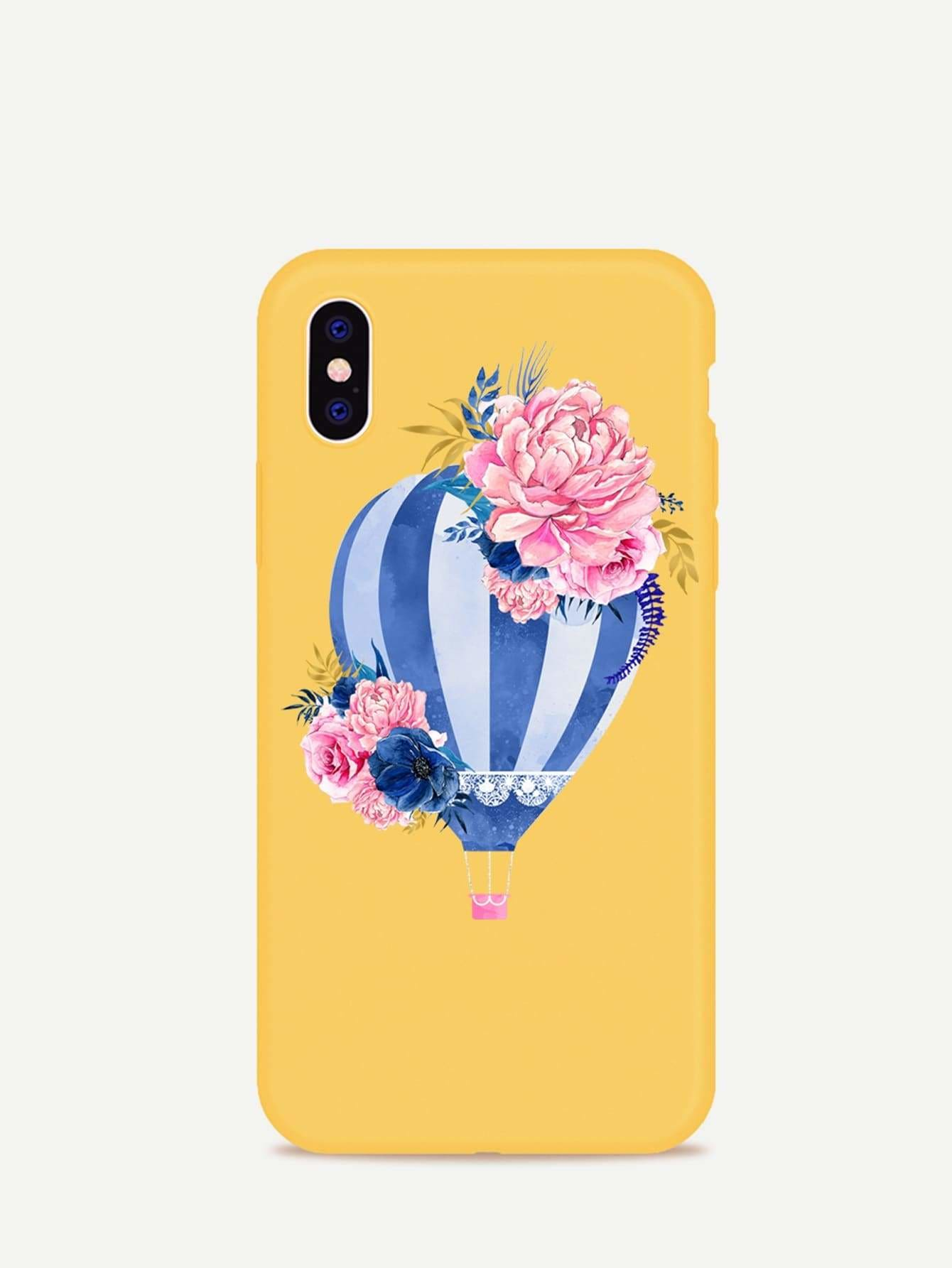 e77ca05960 Fire Balloon Pattern Iphone Case - Phone Cases