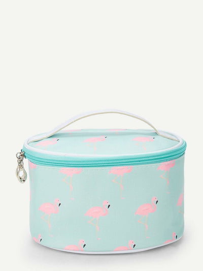 Flamingo Pattern Makeup Bag - Makeup Bags