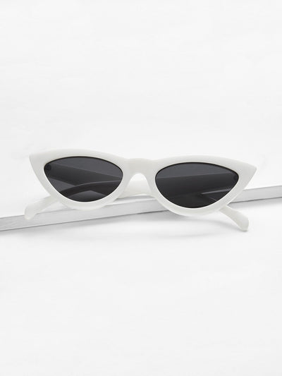 Flat Lens Sunglasses - Sunglasses