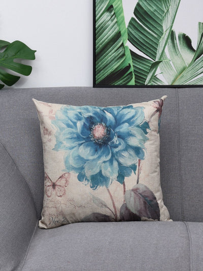 Flower Print Pillowcase - Decorative Pillows