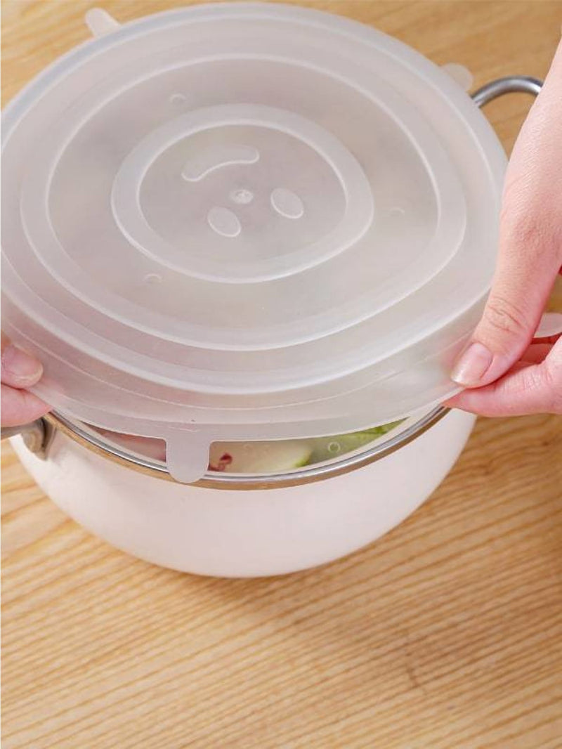 Food Container Fresh Cover 6pcs - Kitchen Tools