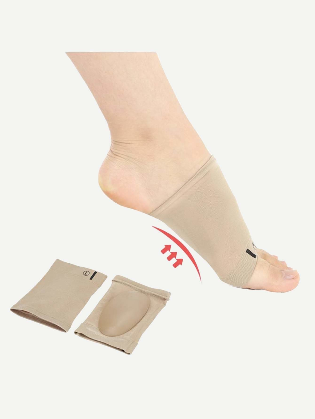 Foot Arch Support Sleeve Cushion 1Pair - Personal Care