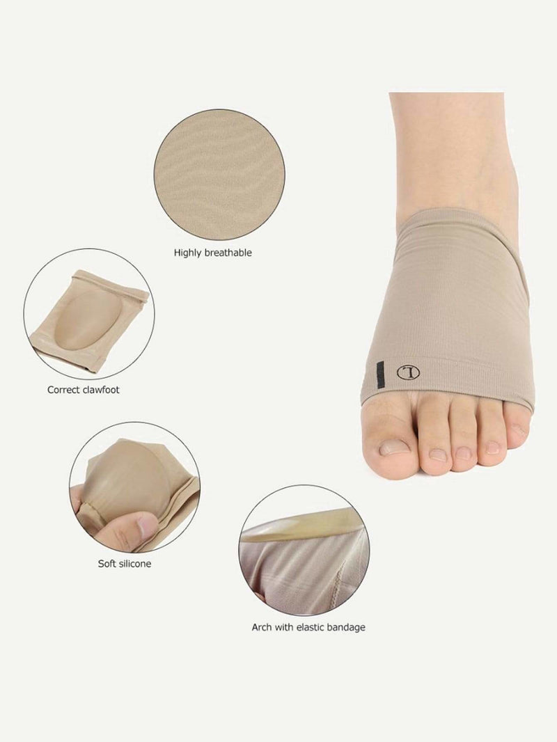 Foot Arch Support Sleeve Cushion 1pair