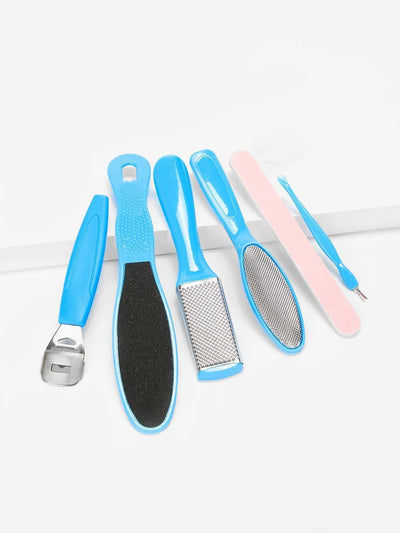 Foot Hard Dead Skin Remover Tool Set 7Pcs - Personal Care