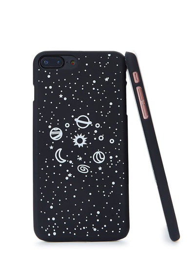 Galaxy Print Iphone Phone Case - Phone Cases