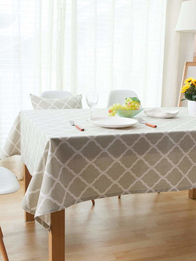 Geometric Print Table Cloth - 100*140 - Kitchen & Table Linens