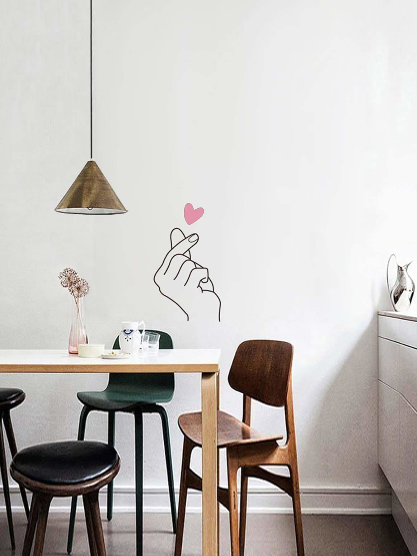 Gesture & Heart Wall Art - Wall Art