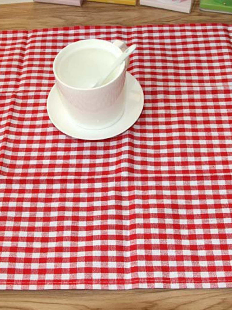 Gingham Pattern Napkin