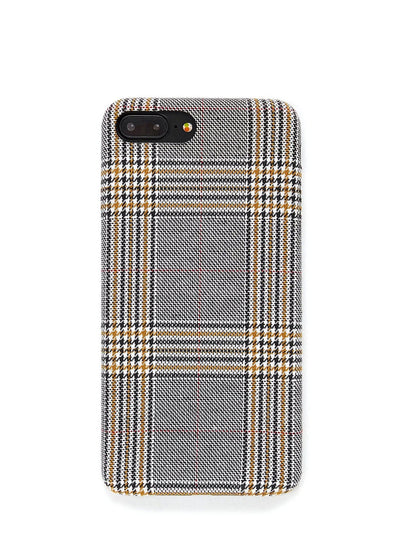 Gingham Print Iphone Phone Case - Phone Cases