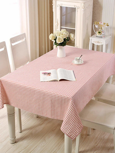 Gingham Print Table Cloth - 100*140 - Kitchen & Table Linens