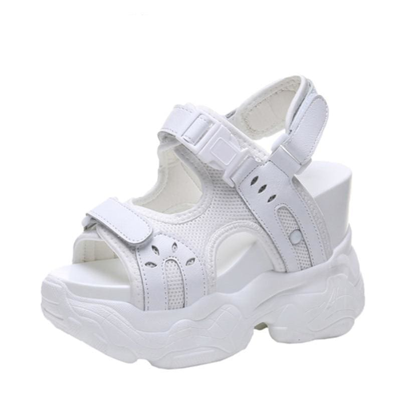 Gladiator PU Platform Sandals Sneakers - Womens Sneakers