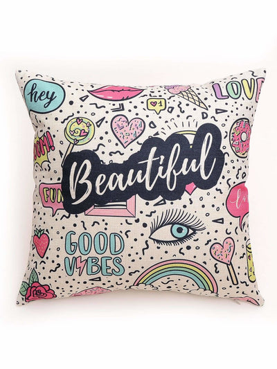 Graffiti Pattern Pillowcase - Decorative Pillows