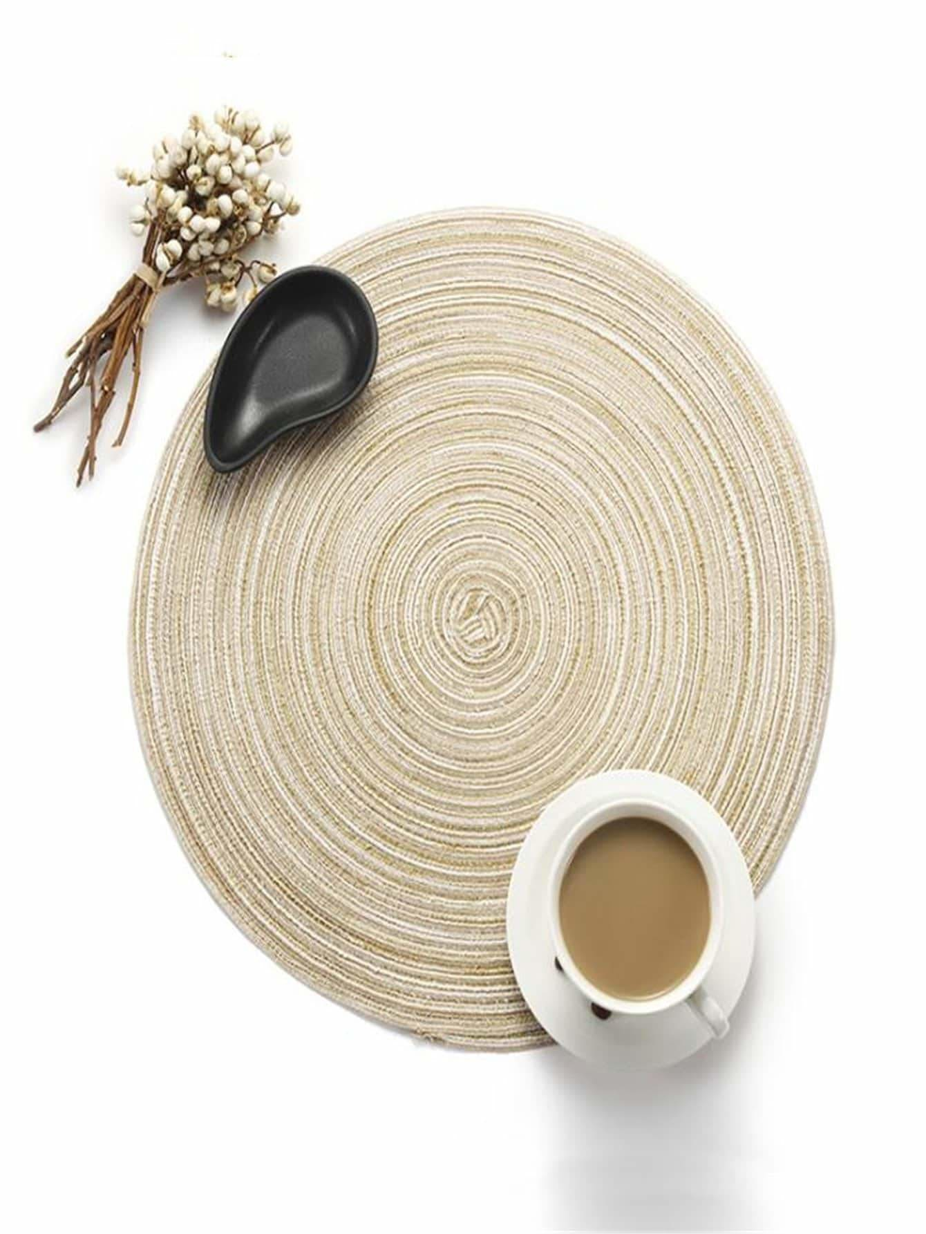 Grainy Plain Coaster 1Pc - Dining