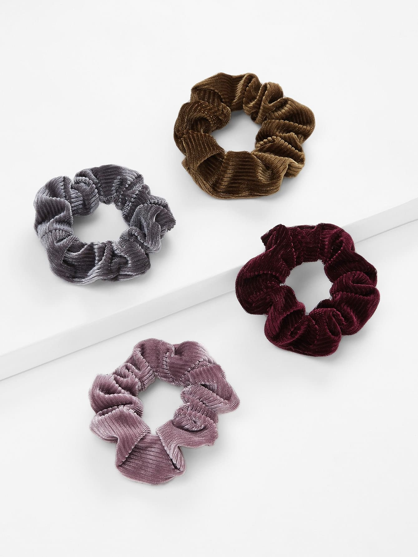 Hair Scrunchie 4pcs