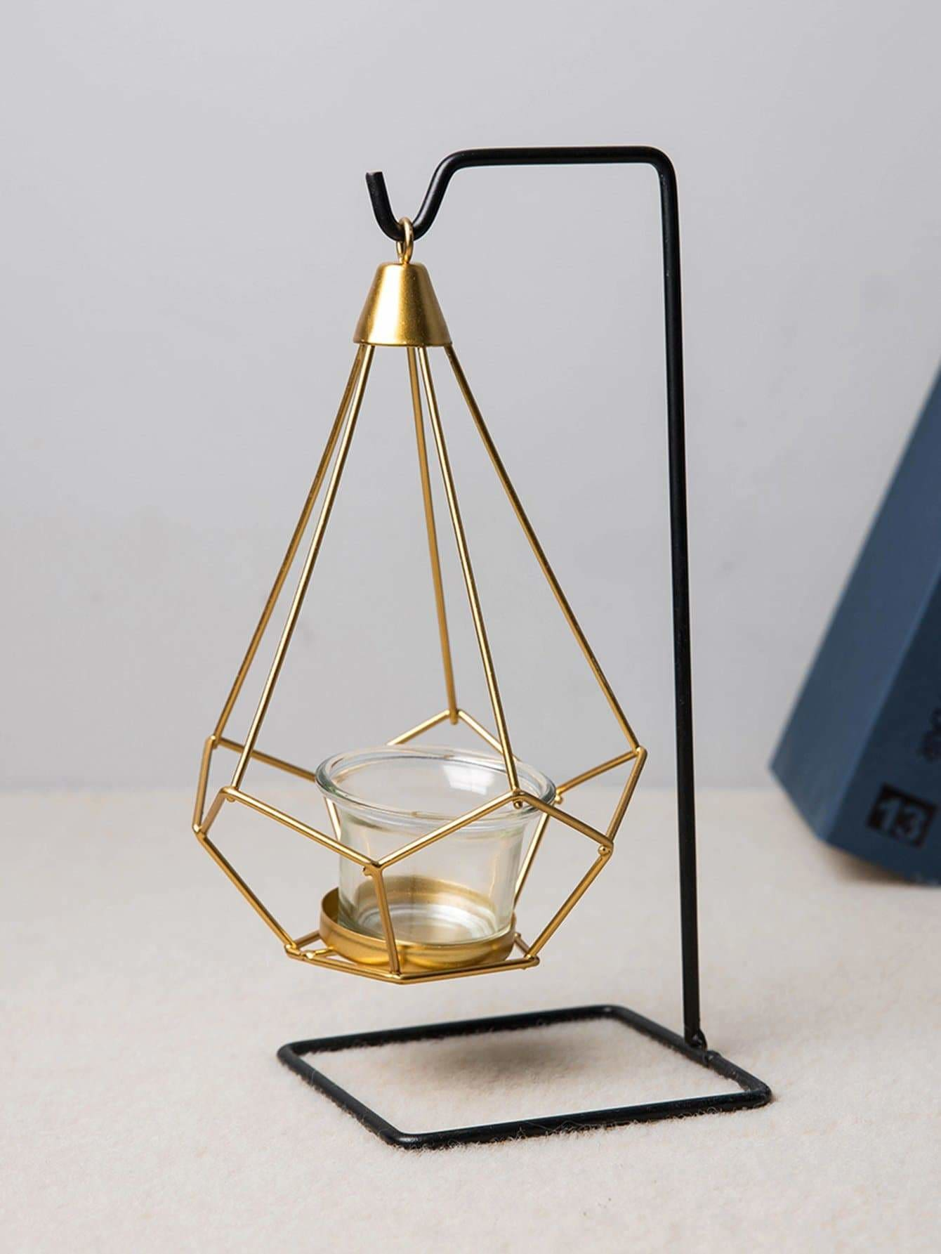 Hanging Geometric Candle Holder 1pc - Displays