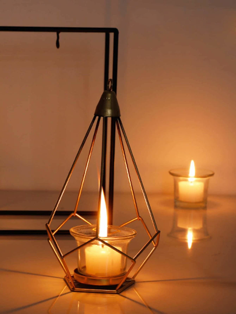 Hanging Geometric Candle Holder 1pc