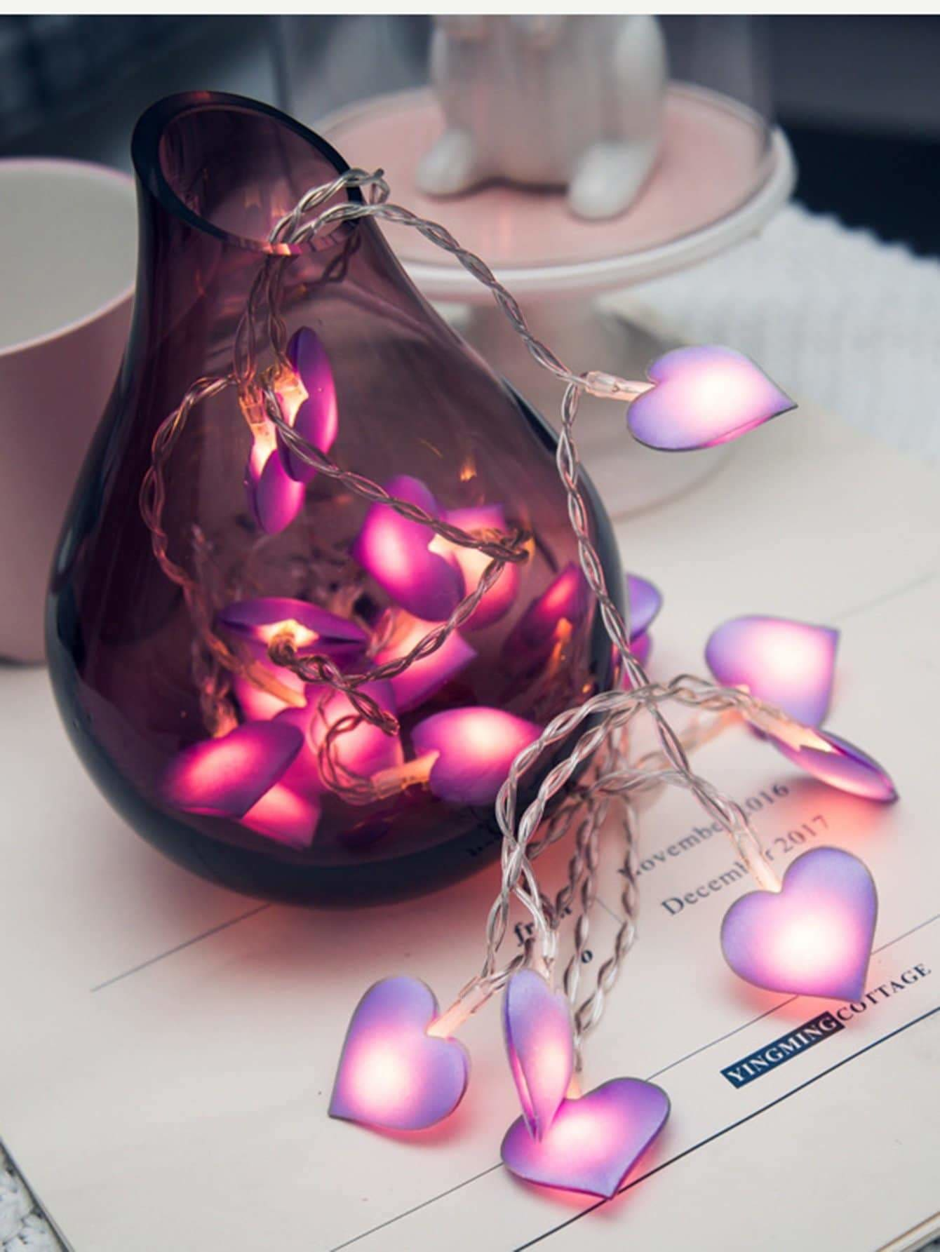 Heart Bulb 20pcs String Light - Lighting & Lamps