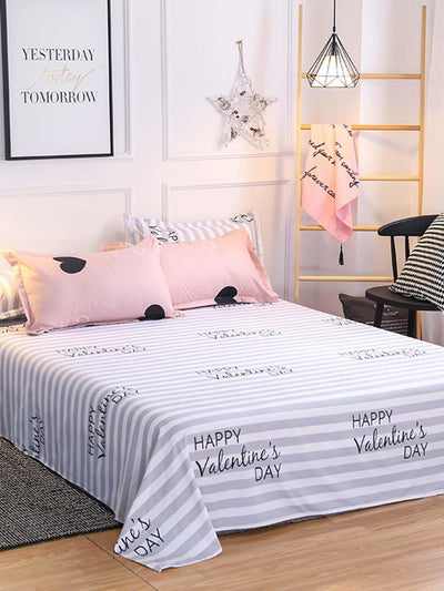 Heart Print Sheet Set - Bedding Sets