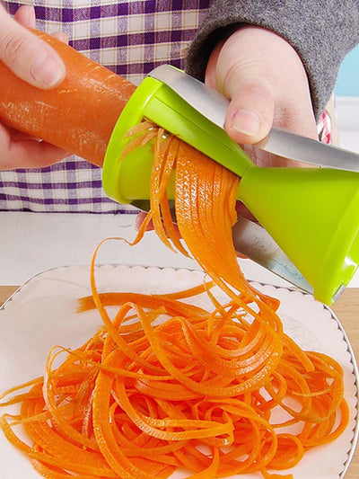 Hourglass Shaped Rotatable Grater - Kitchen Tools