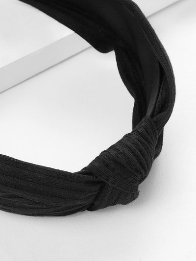 Knot Design Wide Headband - Hair Accessories