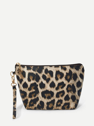 Leopard Makeup Bag - Makeup Bags