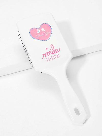 Letter Pattern Air Cushion Massage Comb - Personal Care