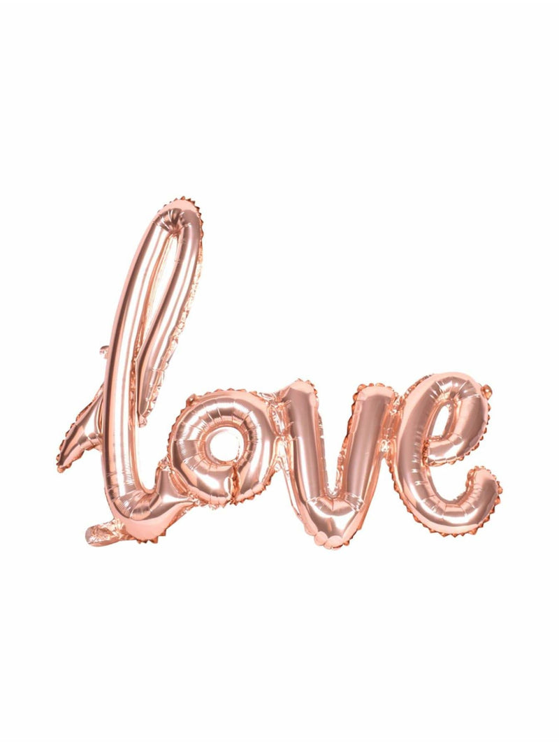 Love Balloon Banner - Holiday Decors